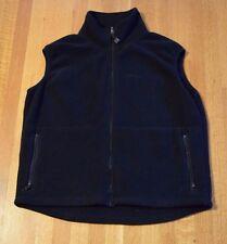 Solstice Polartec Fleece Vest Women's Size Large Black Outerwear Liner USA MADE