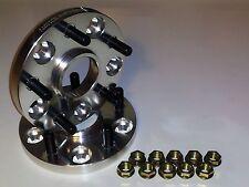B2Designs 25mm V2 Wheel Spacers Mitsubishi EVO 8, 9,10 MR JDM (4 spacers)