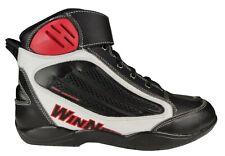 Scarpe Moto Alpinestars Jam Nero Denim Giallo Wp Impermeabili Sneaker Protezioni