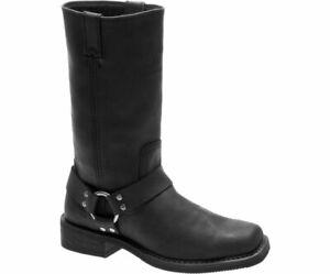 Brand New Harley-Davidson Men's BOWDEN Black Leather Boots D93477 sz 10