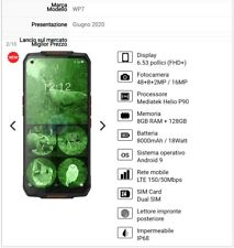 Oukitel WP7 Dual Sim Smartphone Android + Cover Silicon