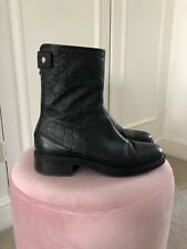 Women's Gucci Leather Boots Size 38
