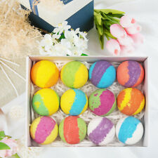 Bath Bombs Gift Set Organic bubble bath fizzy for Dry Skin Moisturize bath salt