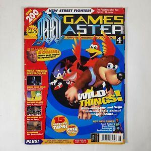 Games Master Magazine Issue 59 September 1997 Banjo Kazooie Crash Sonic Cover