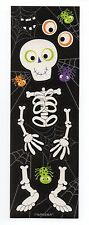 20 Sheets Halloween Make a  Friendly Skeleton  Sticker Page - 9 Stickers on Page