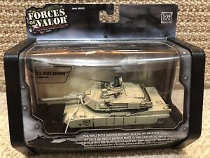 Unimax Forces of Valor 1:72 U.S. M1A2 Abrams, Baghdad 2003, No. 85005