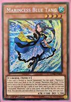 YuGiOh Marincess Blue Tang Secret Rare 1st Edition CHIM-EN004 NM