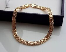 GENUINE 9ct gold bracelet gf ALMOST SOLD OUT 21