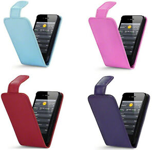 For Apple iPhone 4 Apple iPhone 4S PU Leather Flip Case Cover