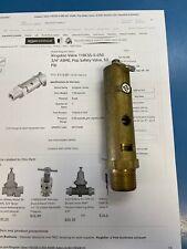 "kingston valve 118css-5-050 3/4"" asme, pop safty valve , 50 psi"