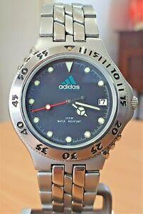 Classic Adidas SS dive-style Ronda movement quartz watch