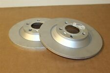 Audi A6 allroad rear 302x12mm brake discs 4F0615601G New genuine Audi part