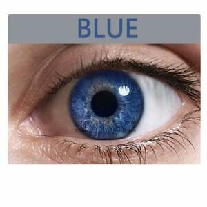 Fashionable Contact lens & Kit Free Lens Solution for Sexy eye party Blue Color