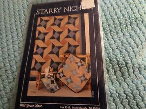 "quilt pattern ""Starry Night"""