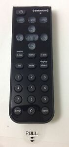 SiriusXM Universal Remote Control SXIR2 for XM Onyx Plus and Onyx EZ (New)