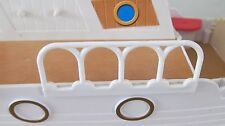 SYLVANIAN PLEASURE BOAT - LOWER DECK RAILING 8 CM