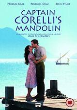 DVD Captain Corelli's Mandolin Nicolas Cage Region 2