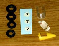 ORIGINAL 1964/71 DINKY MECCANO 243 BRM RACING CAR  KIT + FREE DISPLAY BOX