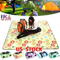 Inflatable Beach Mat Pinic Blanket Camping Rug Pad Ground Sheet Hiking Sleeping