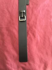 GUCCI Men's  small buckle Dark Brown Leather Belt  Size:100/40
