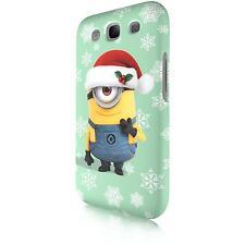 "Minion ""Santa Carl"" Tasche Cover Case Schutzhülle für Samsung Galaxy S3 i9300"