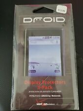 DROID - Display Protectors (2 PK with cleaning cloth)