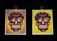 Day of the Dead Dias - De Los Muertos Sugar Skull - Tin Frames, Sold Separately