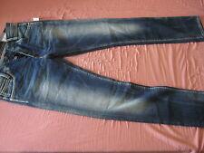 Herren PEPE Slim Fit Größe W33 L34 SPIKE NEU Low Waist BLUE JEANS Gr.33 Slim Leg