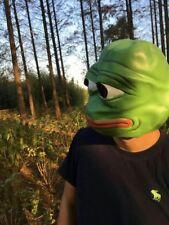 UK Supplier Pepe Latex Full Head Mask & Pepe Cap & Enamel Badge - MAGA ALTRIGHT