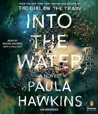 INTO THE WATER by author of Girl on a Train, Paula Hawkins - CD audiobook