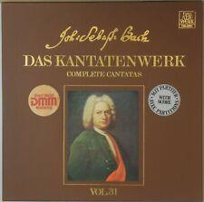BACH Complete Cantatas Volume 31 Telefunken 6.35602 DMM (2-LP) NM