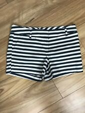 MIX Sz 14 Womens Shorts Green White Short Dress Or Casual Mid Rise