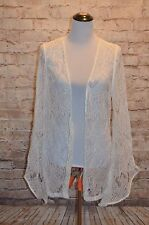 Modcloth Begin Beautifully Robe NWOT Sz XS (fits S) Lindy Hop ivory Lace bridal