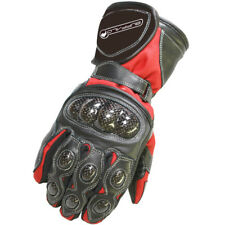 Buffalo Storm Textile Waterproof Armoured Winter Motorbike Motorcycle Gloves Red 11cm (xl) BGSTOR185XL