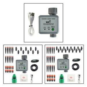 Drip Plant Watering Kit Irrigation Sprinkler Programmer Automatic Water Timer