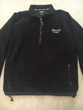 Powell Fly Rods Size L Ouray Black Half Zip Fleece