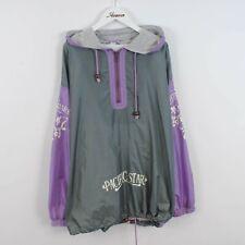 Vintage 80s/90s Block Colour 1/4 Zip Windbreaker Shell Jacket Size 3XL Retro