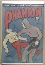 Australian Vintage Original Genuine Phantom Comic Book By Lee Falk No 99 F