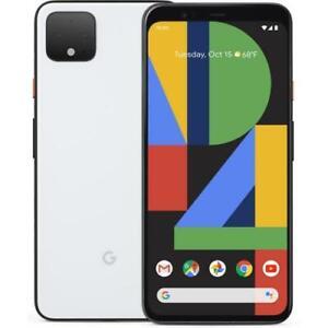 Google Pixel 4 XL 64GB Verizon Smartphone 6.3  QHD+ Display 6GB RAM Clearly Whit