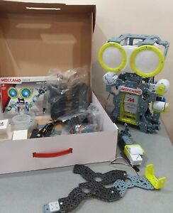 Meccano Tech Meccanoid G15 Personal Robot partially assembled never played