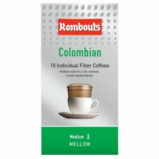 Rombouts Colombian Individual Filter Coffee Mellow Fairtrade 10