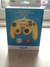 Original Nintendo wii u NES Mini wario edition contrôleur smash Bros pdp wired