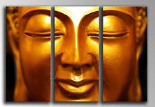 Cuadro Moderno Fotografico Buda Buddha base madera, 87 x 62 cm
