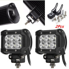 Car Adjustable Holder 6LED Driving Fog Spot Spotlight Lamp Work Light Spotlight