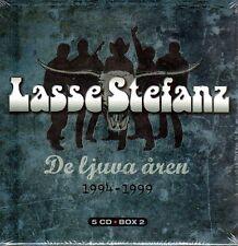 5 CD BOX lascio stefanz, de ljuva åren 1194-1999, Svezia svedese
