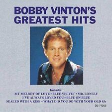 Bobby Vinton's Greatest Hits [Curb] by Bobby Vinton (CD, Mar-1990, Curb)