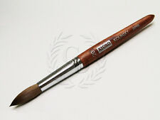 Kyoko Finest 100% Pure Kolinsky Nail Art Brush with Original Wood Handle Size 20