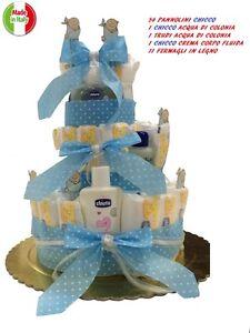 torta di 54 pannolini chicco acqua di colonia chicco trudi colonia chicco crema