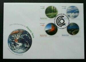 Portugal 2008 International Year of Planet Earth Nature Environment FDC