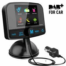 "2.4""Colorful Screen In Car DAB+ Digital Radio Adapter, Portable Bluetooth V4.2"